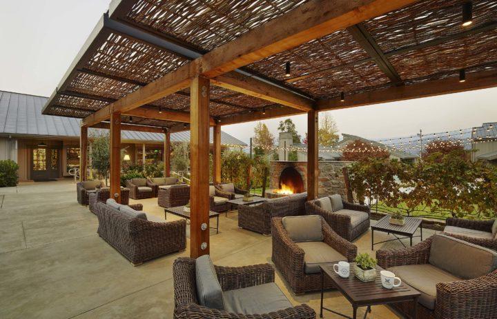 Brasswood patio